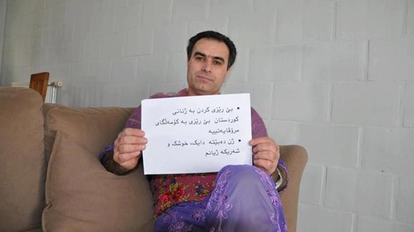 クルド人 女装キャンペーン8