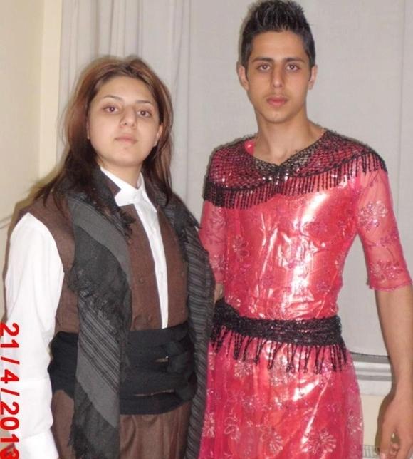 クルド人 女装キャンペーン6