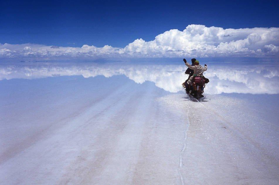 ウユニ塩原