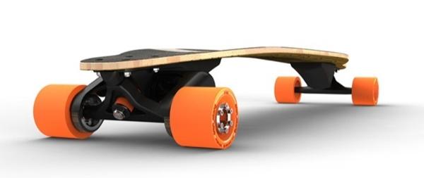 電気スケートボード ブーステッド・ボード1