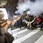 【画像】サンパウロの大規模デモで負傷者多数、警察隊はやりすぎ