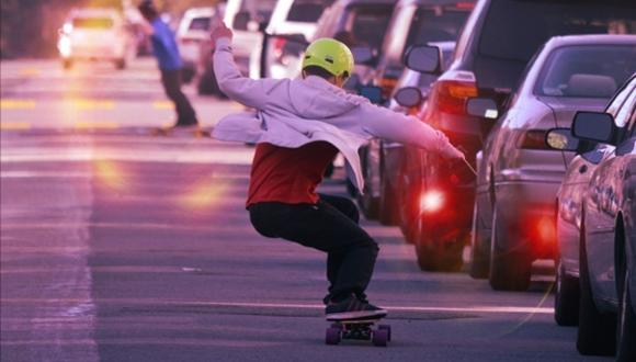 電気スケートボード ブーステッド・ボード