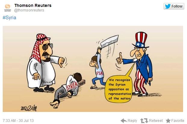 シリア電子軍 ロイター