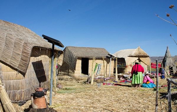 ペルー ソーラーパネル