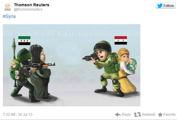 シリア電子軍 ロイター2