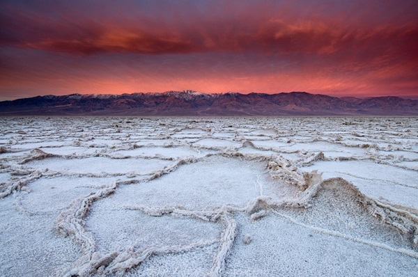 デスバレー 塩の平原