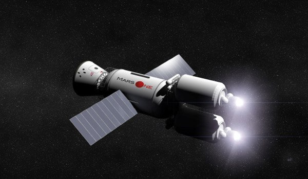 Mars One計画 宇宙船