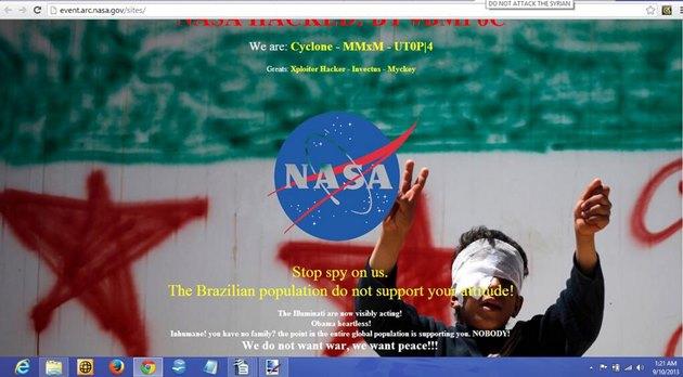 ブラジルハッカー NASA (2)