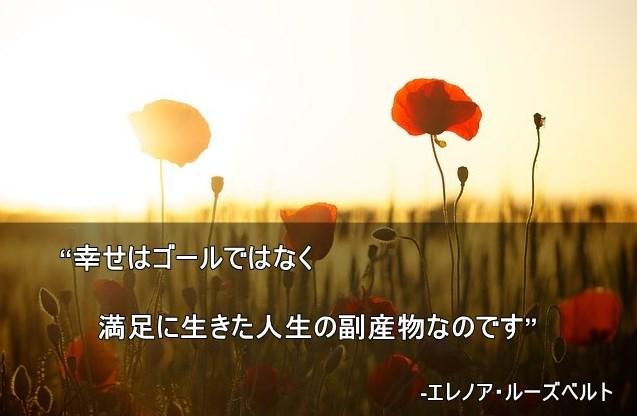人生の名言 エレノア・ルーズベルト1
