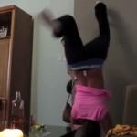 【動画】激しくセクシーに踊ってたら、体が燃えてしまった…