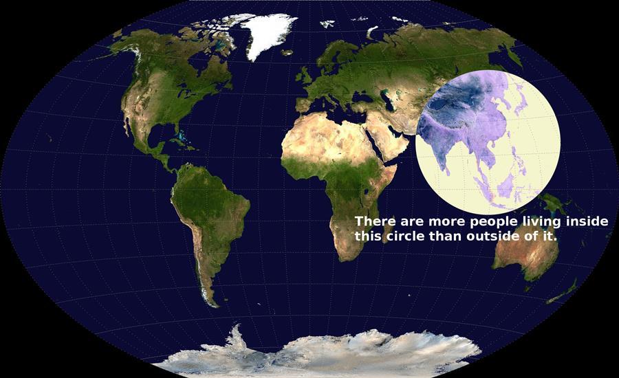 人口分布マップ