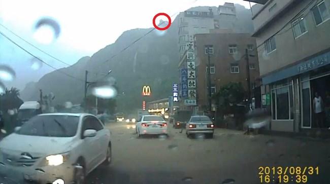 台湾 落石3