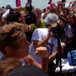 米64歳女性がキューバ・アメリカ間を水泳で横断