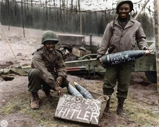 カラー化写真 アメリカ兵
