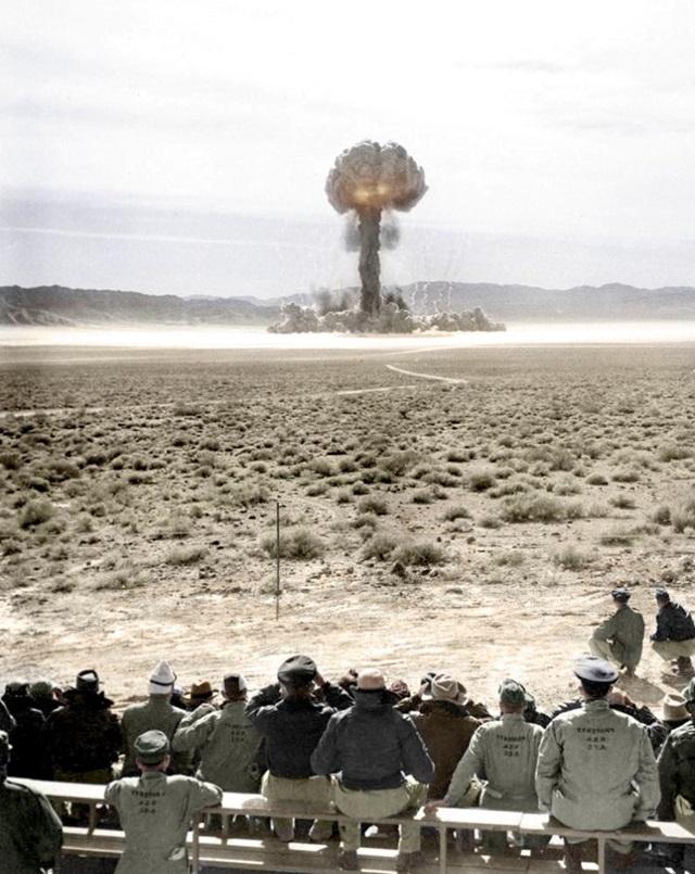 ネバダ州での核実験