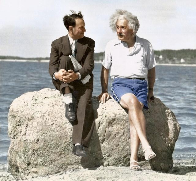 カラー化写真 アインシュタイン