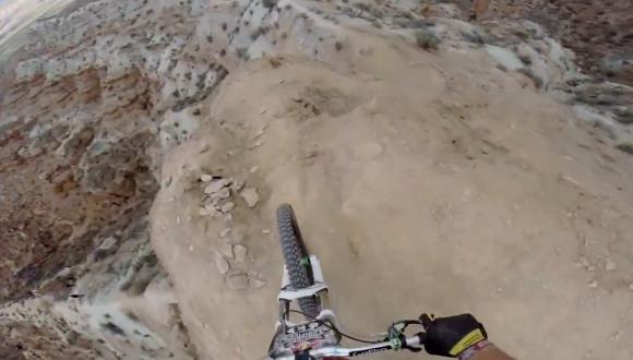 マウンテンバイク GoPro