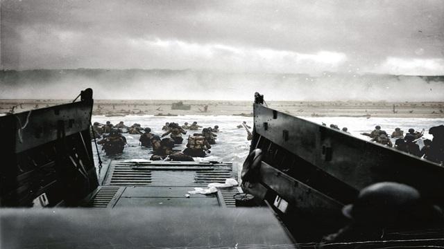カラー化写真 ノルマンディー上陸作戦