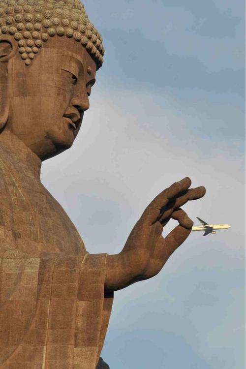 仏像 飛行機