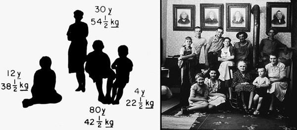 ボイジャー探査機のレコード盤 写真 子供と大人