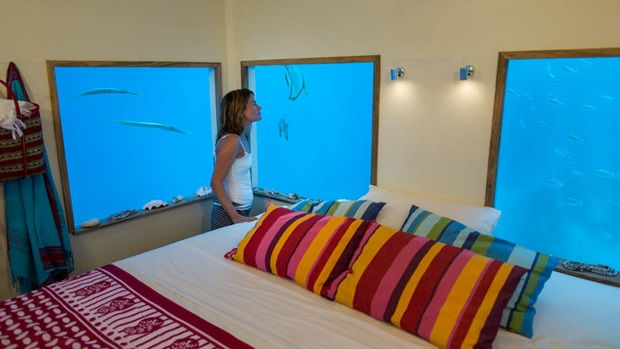 タンザニア 水中ホテル11