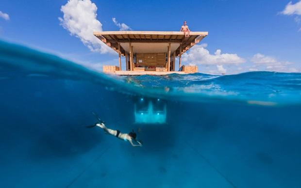 タンザニア 水中ホテル2