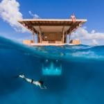 【画像】まるで熱帯海中水族館、タンザニアの水中ホテルが素敵すぎる!!