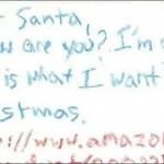 【画像】最近の子供はこんな感じでサンタクロースにお願いするの?