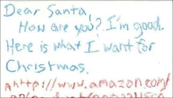サンタさんへの手紙 thumb