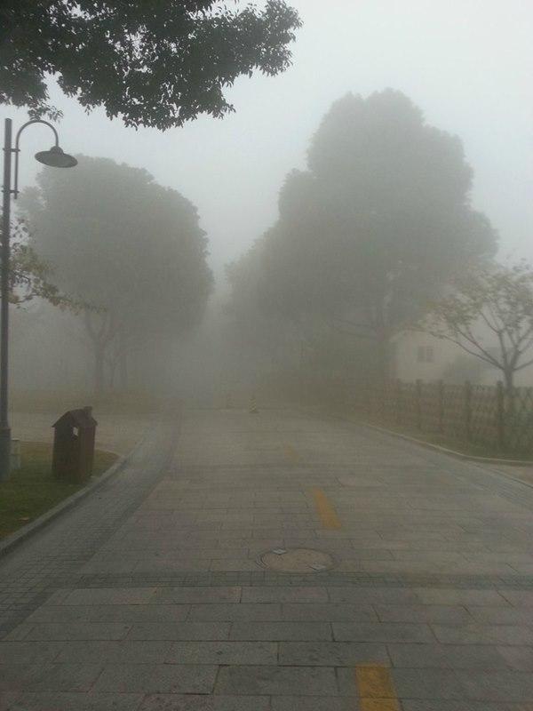 上海 大気汚染5.2