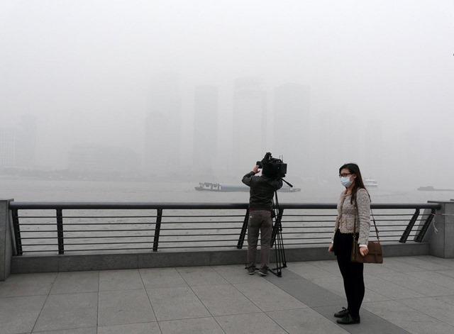 上海 大気汚染4.3