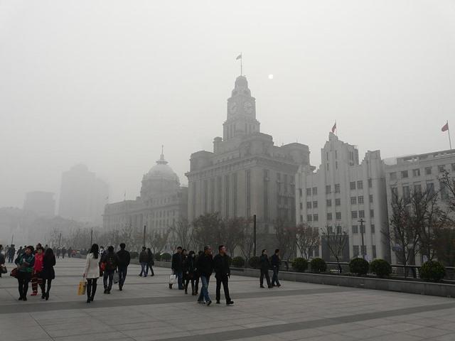 上海 大気汚染4.1