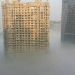 【画像】上海の大気汚染が想像以上に酷すぎる…