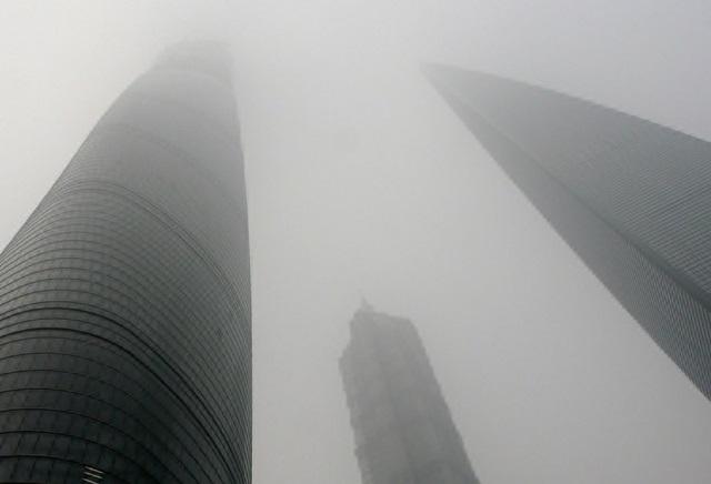 上海 大気汚染4.4