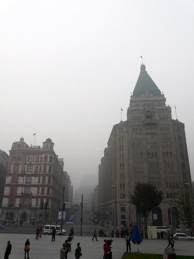 上海 大気汚染4.2