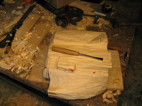 段ボール箱 札束 木5