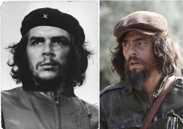 俳優と本人比較 チェ・ゲバラ