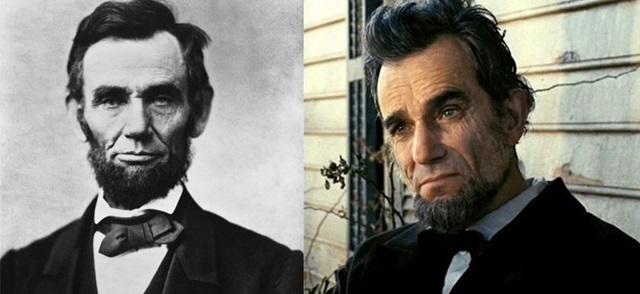 俳優と本人比較 リンカーン