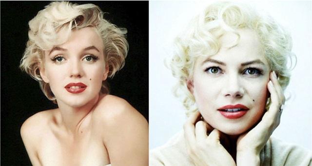 俳優と本人比較 マリリン・モンロー