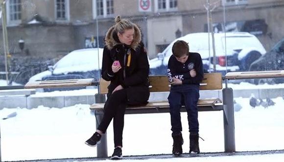 ノルウェー 凍える少年