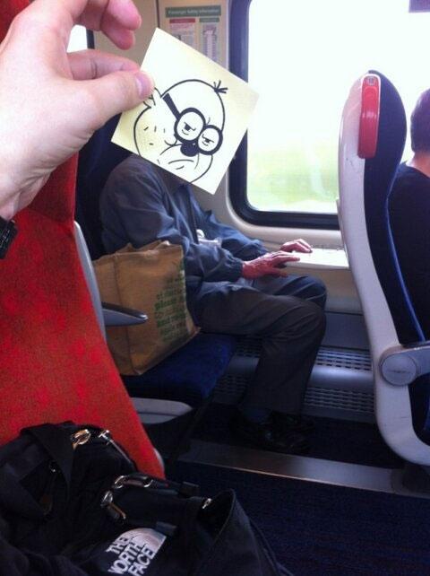 電車 暇つぶし4