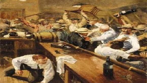 第1次世界大戦が酒場の喧嘩だったら