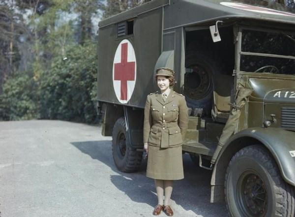 エリザベス二世 トラック運転手