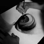 どうみても写真!!イタリア人画家の絶技な鉛筆画