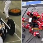【動画】レースピットの進化:1950年と今の作業速度の違い