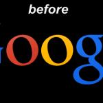 1ピクセルへのこだわり、Googleが公式ロゴをビミョーに変更