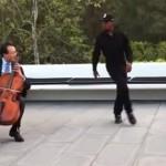 【動画】世界的チェリストとストリートダンサーのコラボパフォーマンス