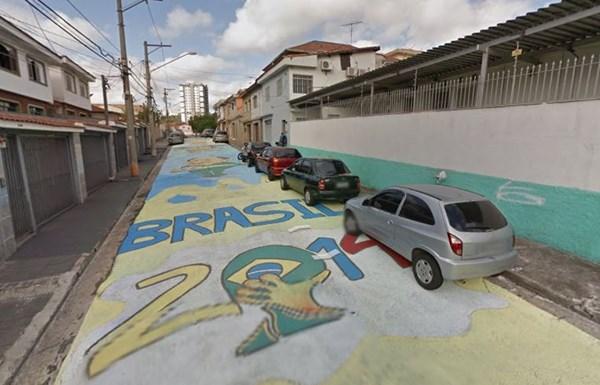 ブラジル アートストリート