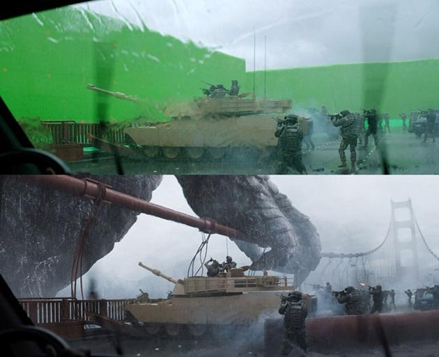 『ゴジラ』VFX