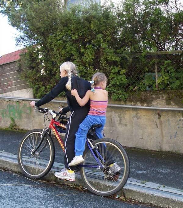 ノルウェー 自転車エスカレーター5